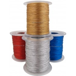 Kordel 1mm / 100m Lurex