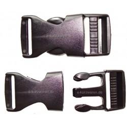 Plastik Steckschnalle 25mm (A)