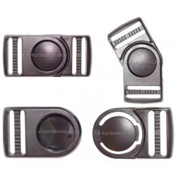 Plastik Steckschnalle 25mm (B)