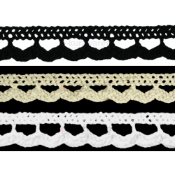 Baumwollspitze 10mm/25m